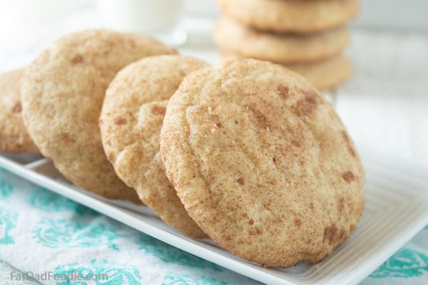 Easy Snickerdoodle Cookie Recipe