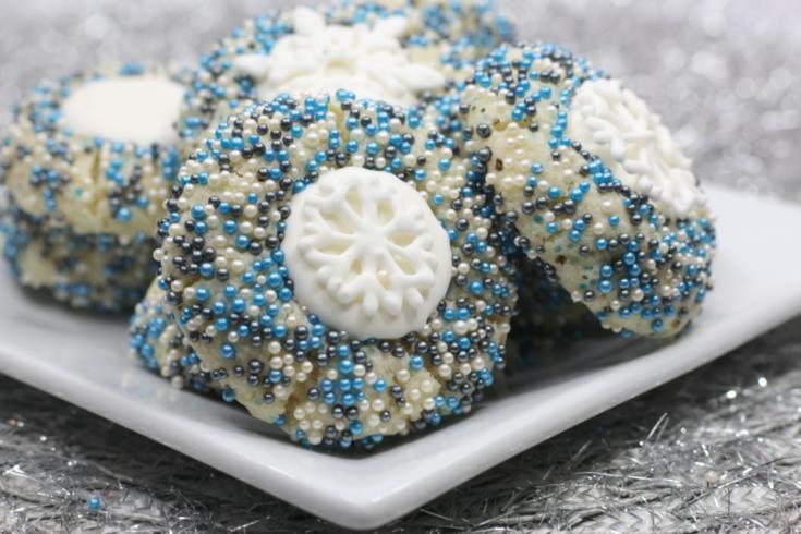 Frozen Sprinkle Cookies