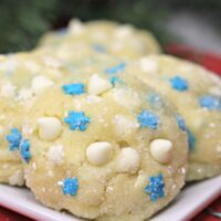 White Chocolate Pudding Cake Cookie Recipe