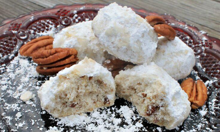 Pecan Snowdrop Cookies Recipe
