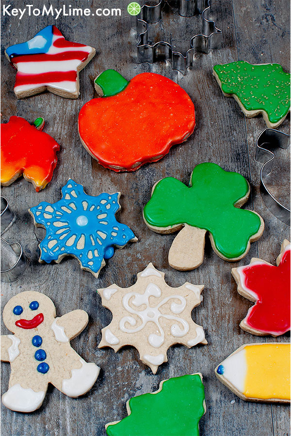 Gluten Free Vegan Sugar Cookies for Cut Outs (No Chill!)