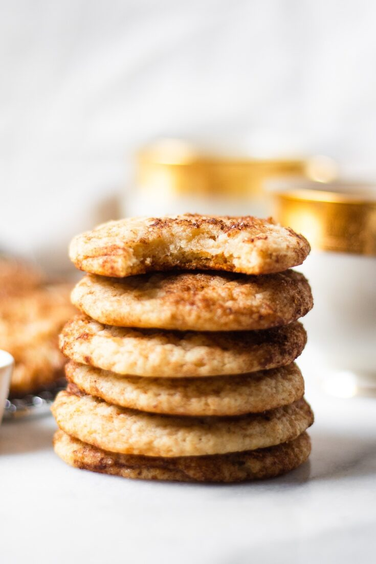 Snickerdoodle Cookie Recipe (you won't believe they're healthy!)