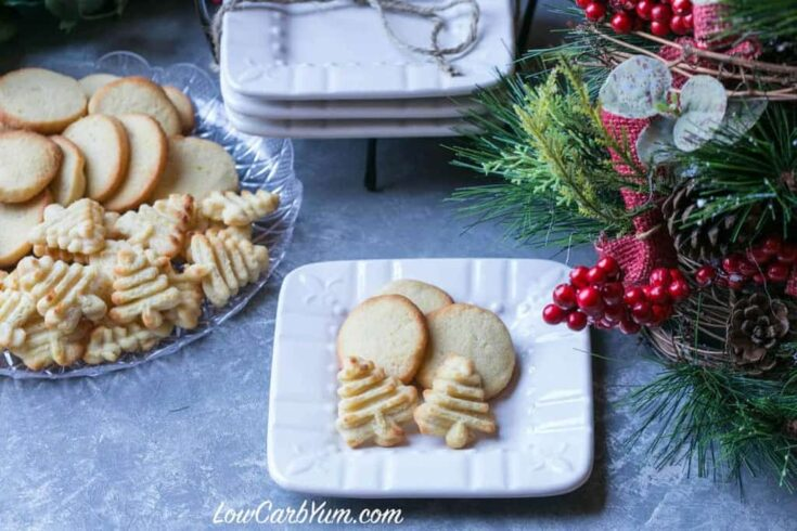 Cream Cheese Cookies - Gluten Free Low Carb