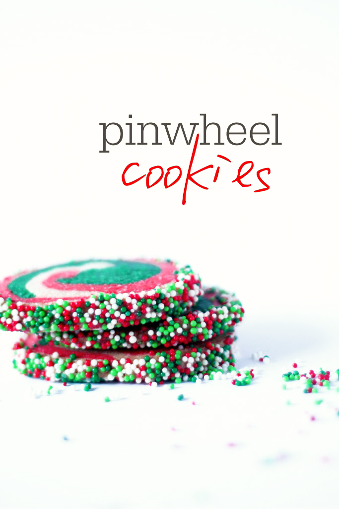 Red and Green Pinwheel Cookie Recipe