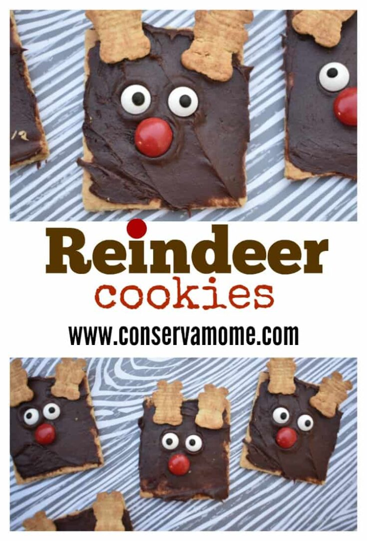 Reindeer Cookies - Adorable & Fun Christmas Kid Craft Treat