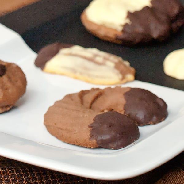 Chocolate Spritz Cookies Recipe