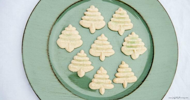 Spritz Cookies Recipe