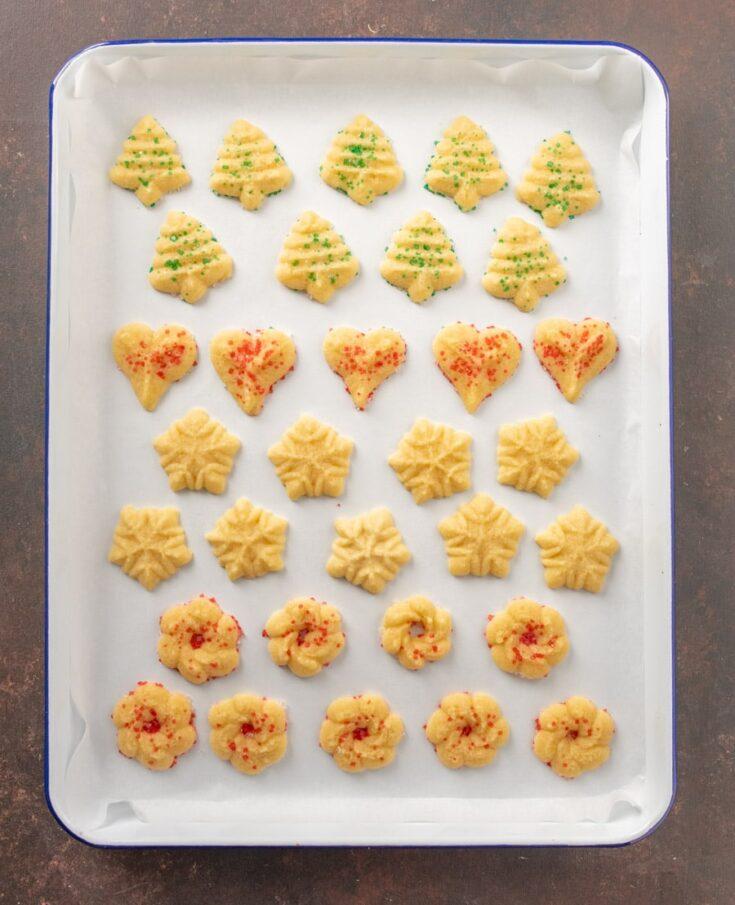 Extra Buttery Spritz Cookies