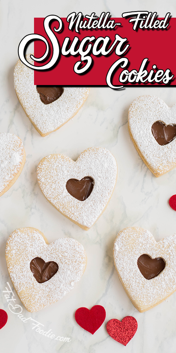 Nutella Filled Sugar Cookies, a host favorite at Funtastic Friday!