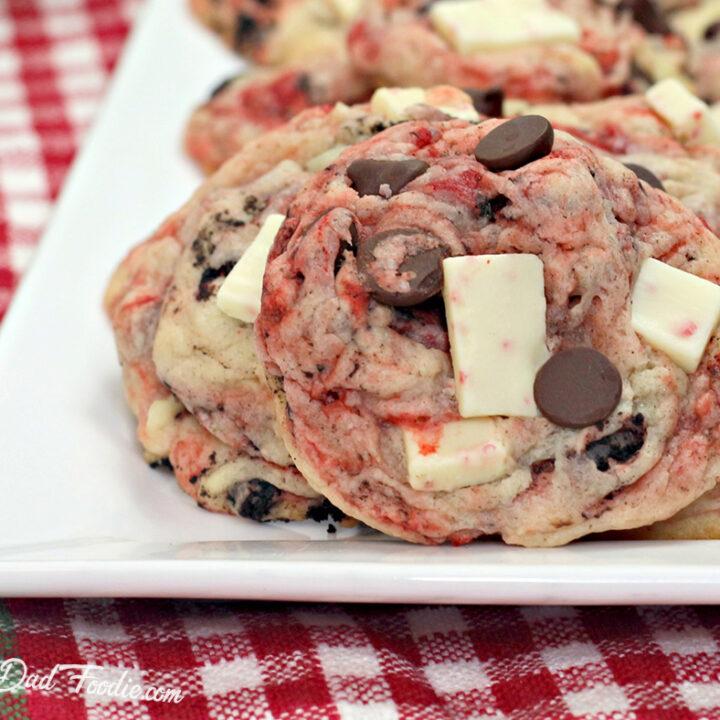 OREO Peppermint Cookies