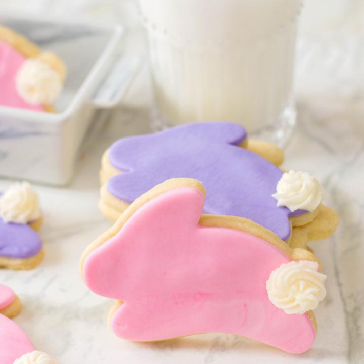 Fondant Bunny Sugar Cookies